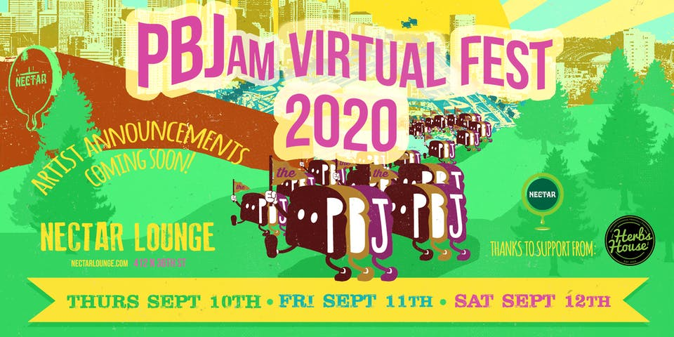 PBJam VIRTUAL FEST 2020!! (streaming live SEP 10th-12th)
