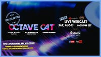 Octave Cat (members of Lotus & Dopapod): FULL BAND LIVE On Stage Webcast