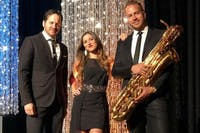 Saturday Night on the Town with GOLD STANDARD, a Funky Jazz Trio