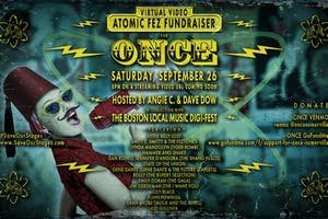 Virtual Video Atomic Fez Fundraiser for Once in Somerville