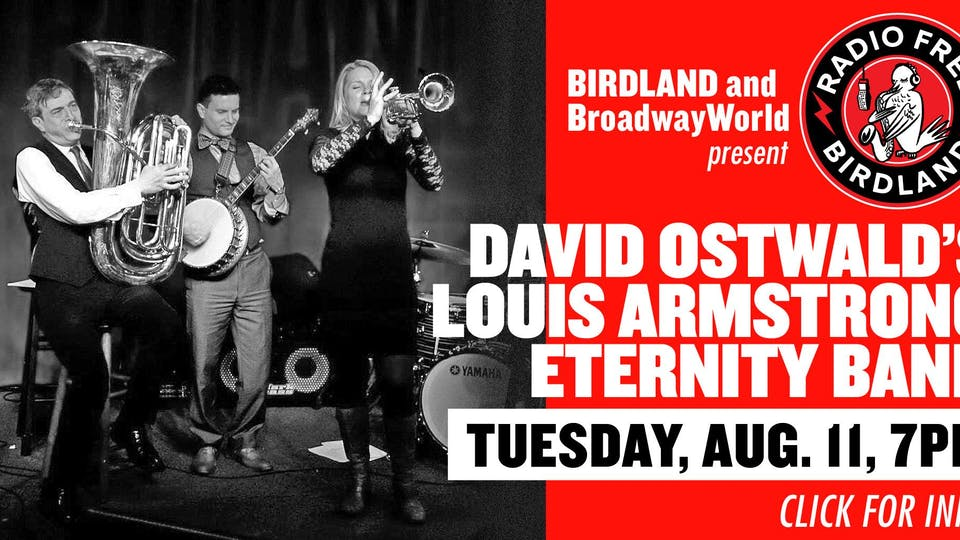 David Ostwald's Louis Armstrong Eternity Band Filmed Live at Birdland!