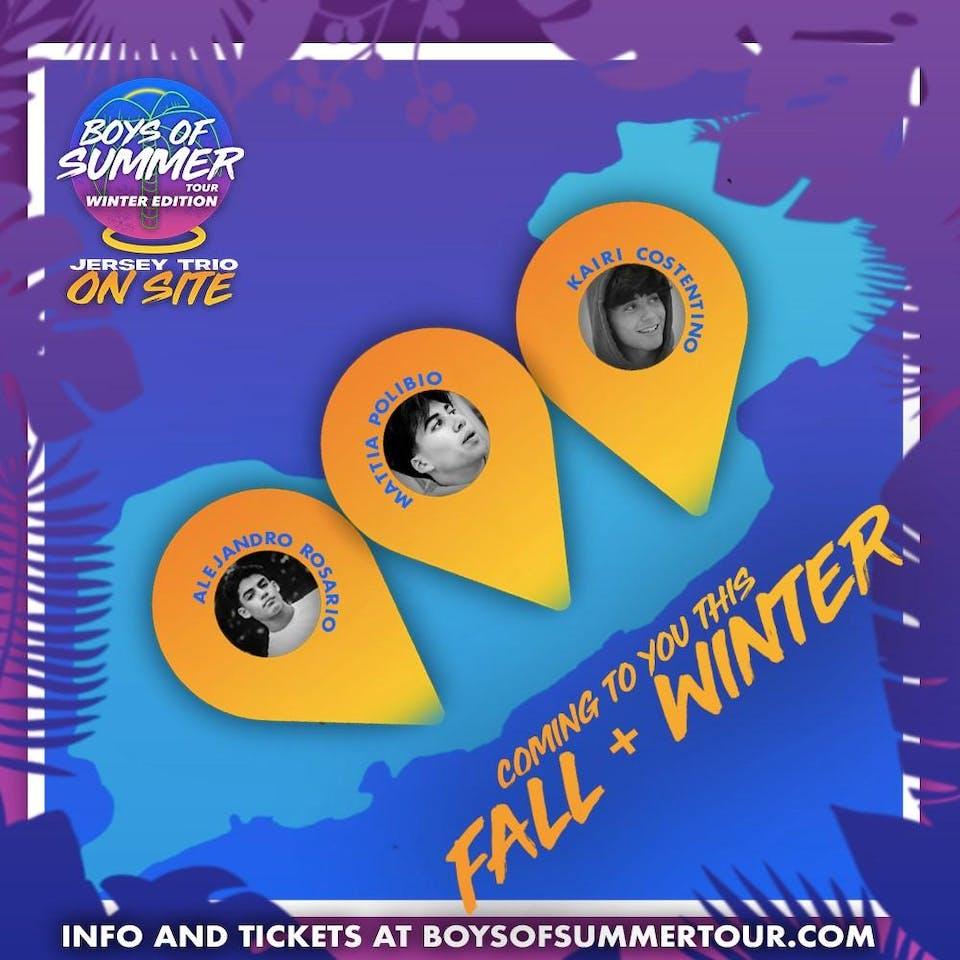 Boys of Summer: Jersey Trio Meet & Greet