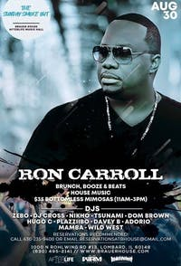The Sunday Smoke Out Brunch Ft House Legend Ron Carrol