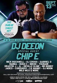 The Sunday Smoke Out Brunch Ft DJ Deeon & Chip E - 13 Hr Brunch!