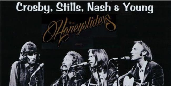 Crosby, Stills, Nash & Young Tribute Show - Friday, Sept 18th