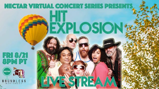 NVCS presents STUDIO 54 featuring HIT EXPLOSION (now a live stream concert)
