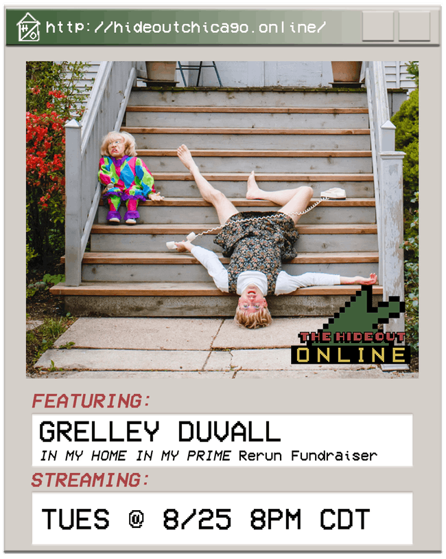 Grelley Duvall: In My Home In My Prime