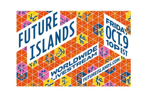 "Future Islands Take ""As Long As You Are"" Worldwide Livestream"