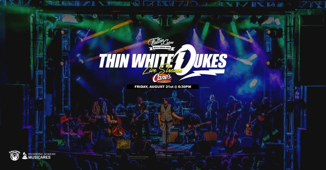 Thin White Dukes - David Bowie Tribute [Limited Seating & Live Stream]