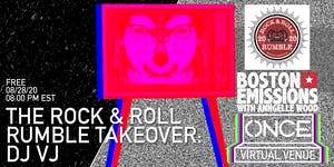 The Rock & Roll Rumble Takeover: DJ VJ x ONCE VV