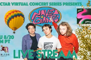 """NVCS presents NAKED GIANTS (live stream """"The Shadow"""" album release party)"""