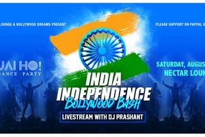 NVCS Jai Ho! India Independence Day Bollywood Dance Party (live stream)