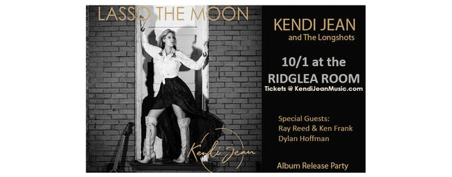 POSTPONED- KENDI JEAN AND THE LONGSHOTS WITH GUESTS AT THE RIDGLEA ROOM