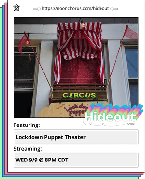Lockdown Puppet Theater