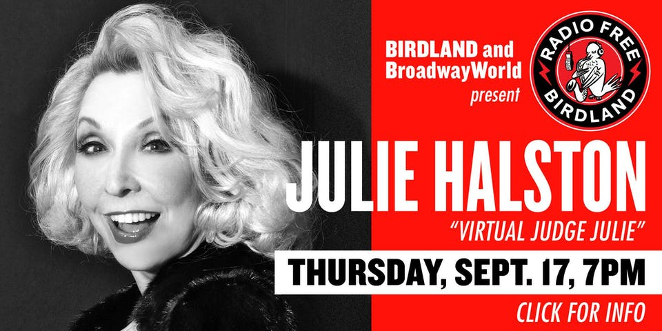 Julie Halston Streamed from Birdland!