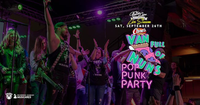 Van Full of Nuns: Pop Punk Party!  [Limited Seating & Live Stream]