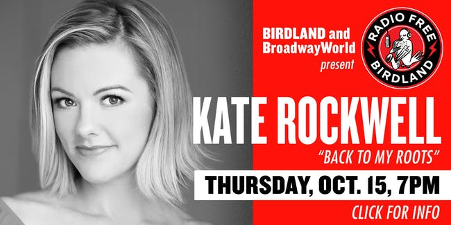 Kate Rockwell Streamed from Birdland!