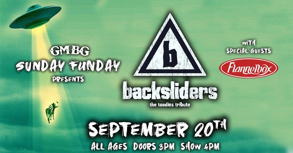 Sunday FUNday BBQ Series Ft. Backsliders