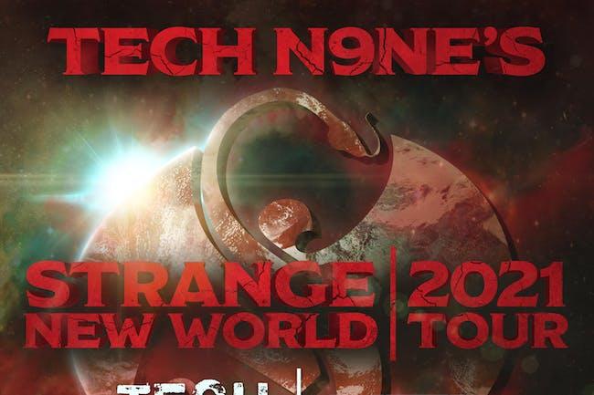 Tech N9ne- NEW DATE