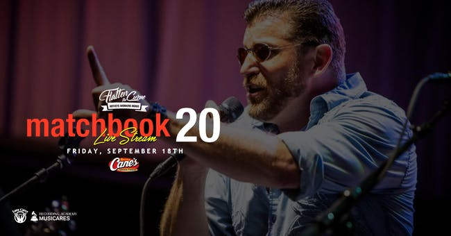 Matchbook 20 - Tribute to Matchbox 20!  [Limited Seating & Live Stream]