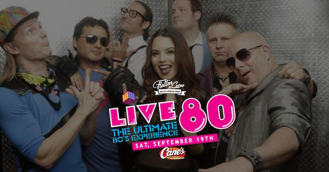Live 80 [Limited Seating and Live Stream]