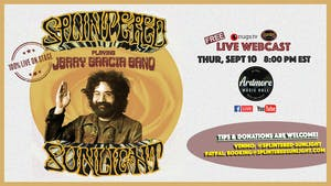 Splintered Sunlight plays Jerry Garcia Band:FULL BAND LIVE On Stage Webcast