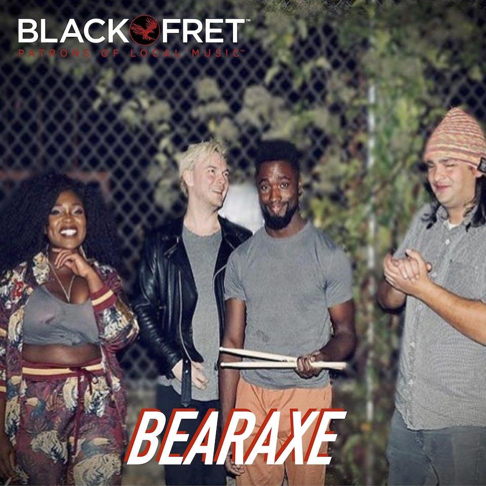 Black Fret & NVCS present BEARAXE