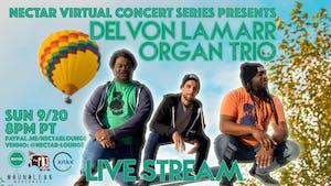 NVCS presents DLO3 (DELVON LAMARR ORGAN TRIO) live stream