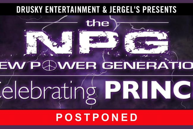 POSTPONED - New Power Generation - Featuring the Music of Prince