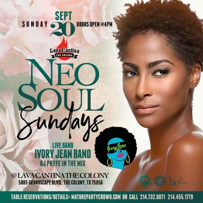 NEO SOUL SUNDAYS feat IVORY JEAN THE BAND