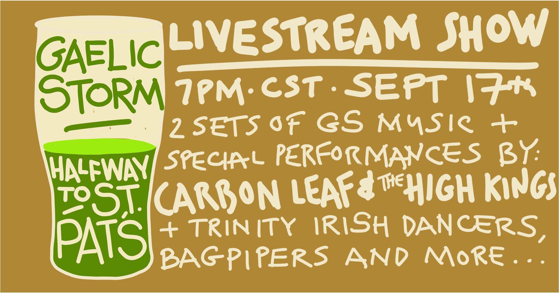 Gaelic Storm Live Stream