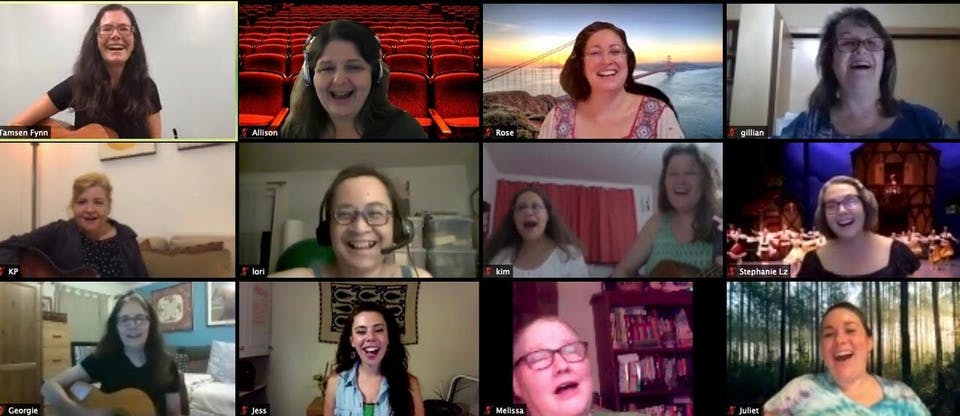 Women's Singing Circle ONLINE (MONDAYS @5:30pm) w/Tamsen Fynn