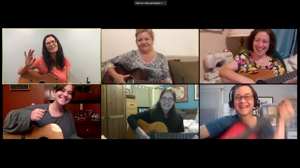 Strum & Sing ONLINE w/Tamsen Fynn