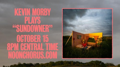 """Kevin Morby Virtual Show - Playing """"Sundowner"""""""