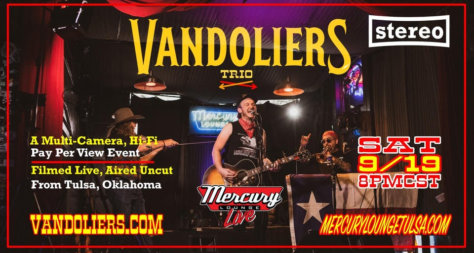 Vandoliers Trio - Live from Mercury Lounge in Tulsa