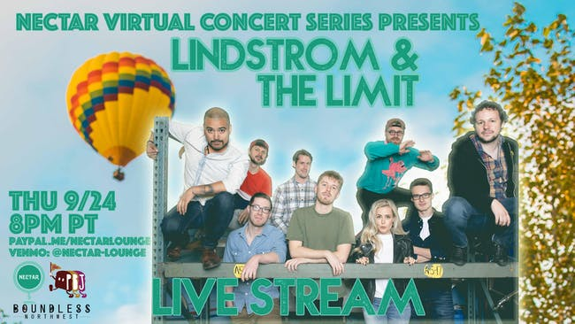 NVCS presents LINDSTROM & THE LIMIT (live stream)