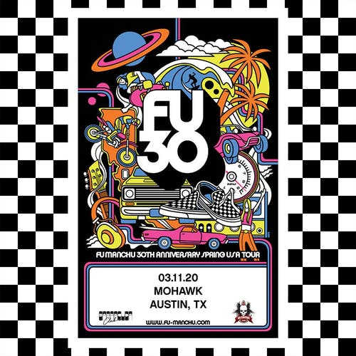 Fu Manchu 30th Anniversary Tour