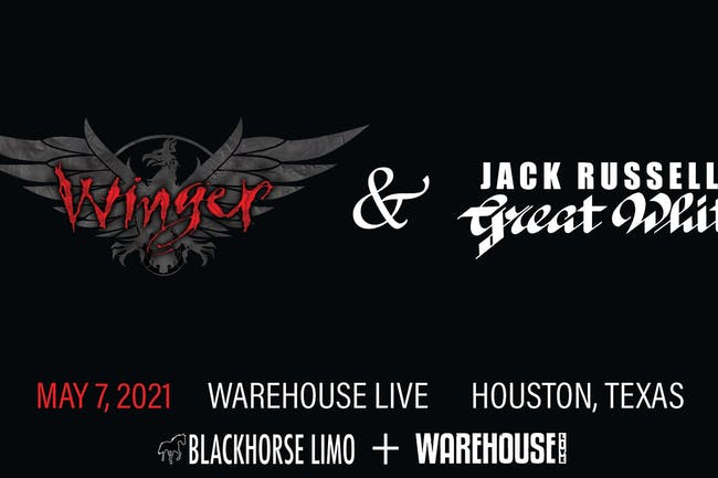 WINGER / JACK RUSSELL'S GREAT WHITE / HINDSIGHT / DJ CHAD