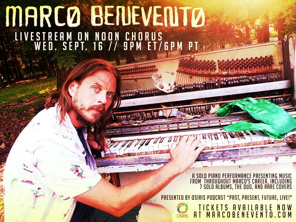 Marco Benevento Livestream on Noon Chorus