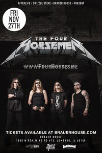 A Metallica Tribute Show W/ The Four Horsemen