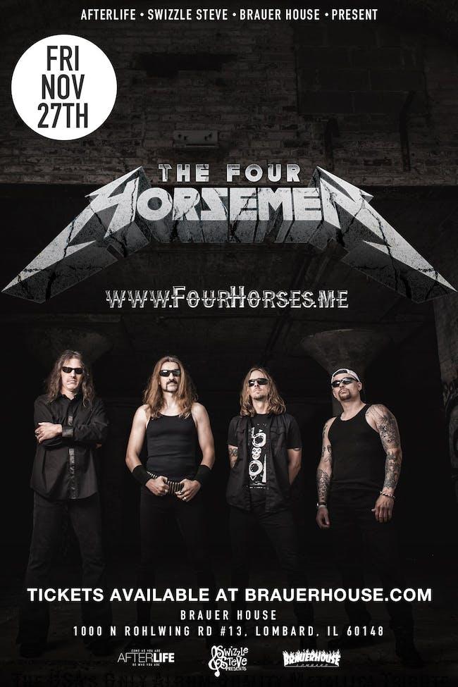 A Metallica Tribute Show W/ The Four Horsemen