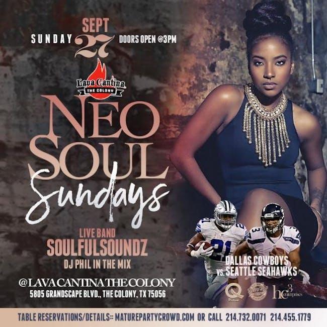 NEO SOUL SUNDAYS feat SOULFUL SOUNDZ THE BAND