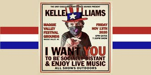 Keller Williams: Drive-In Concert at Maggie Valley Festival Grounds