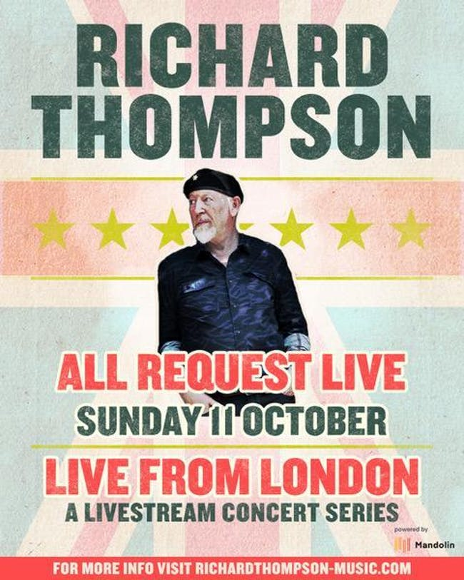 Richard Thompson Stream #3 October 11th: Total Requests