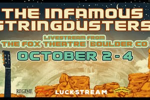 THE INFAMOUS STRINGDUSTERS LIVESTREAM FROM THE FOX THEATRE - THREE