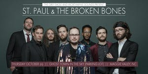 St Paul & The Broken Bones: Drive-In Concert in Maggie Valley, NC