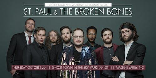St Paul & The Broken Bones: Drive-In Concert in Maggie Valley, NC