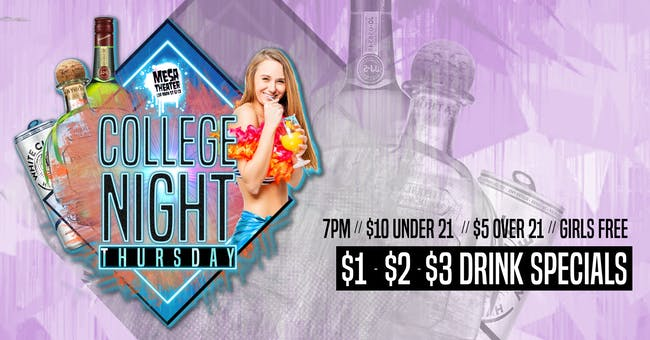College Night at Mesa Theater