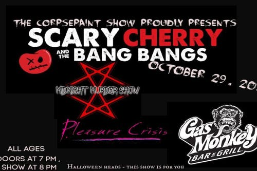 Scary Cherry and the Bang Bangs, Midnight Murder Show, Pleasure Crisis