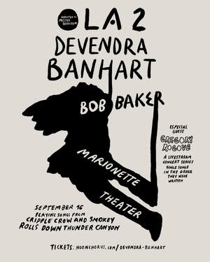 OLA 2 -Devendra Banhart Sings Songs In  Order They Were Written Livestream